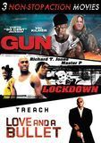 3 Non-Stop Action Movies: Gun/Lockdown/Love and a Bullet [3 Discs] [DVD]