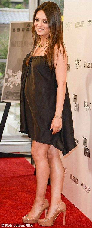 Mila Kunis - Maternity Style - At the premiere of 'Third Person' in Hollywood.  (June 2014)