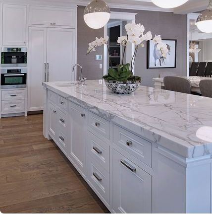 We love this kitchen island featured by Kitchen Cabinet Designs. Visit: http://bit.ly/2kkvepo for info on our products.