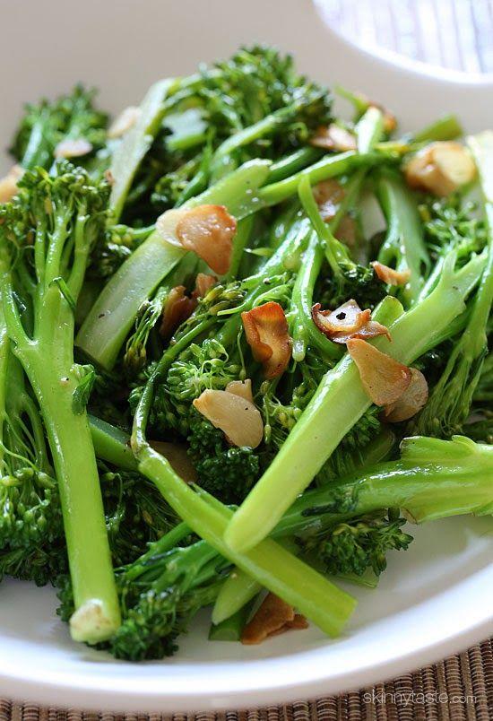 Easy Garlic Broccolini