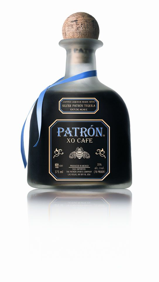 Xo Cafe Patron Tequila | #packaging #bottledesign #tequila