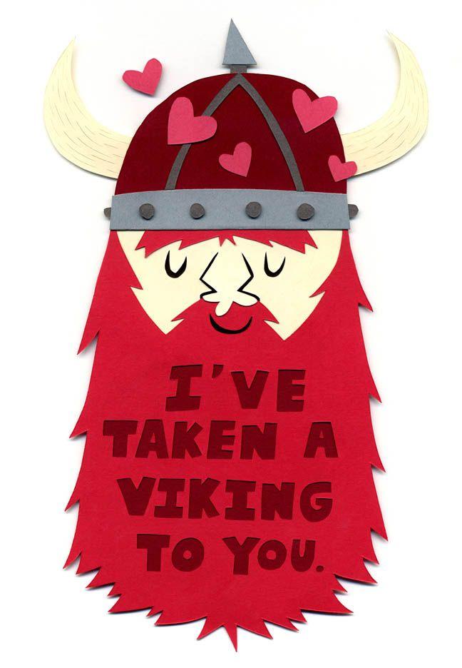 Viking valentine: Andrew Schorr, Puns, Valentines Day Ideas, Funny, Punni Valentines, Valentinesday, Valentines Cards, Minnesota Vikings, Valentines Day Cards