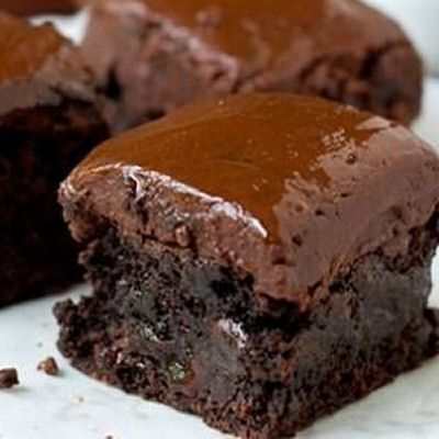 The Ultimate Ganache Brownie