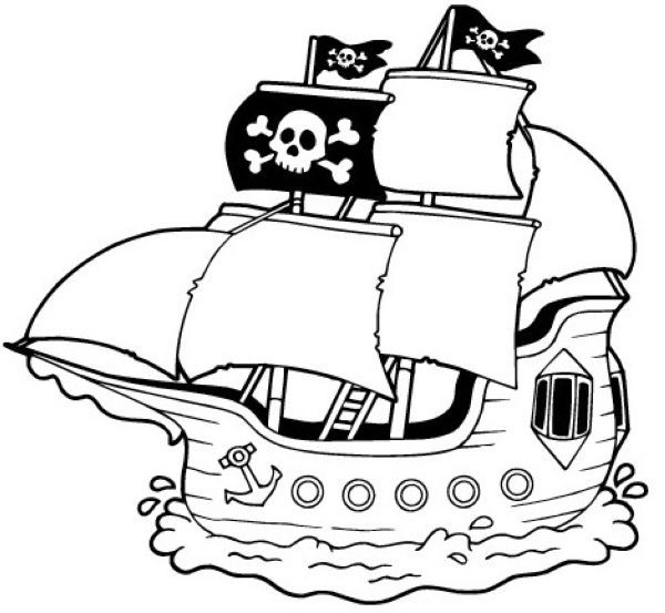 Printable Pirate Ships Coloring Pages Cartoon Coloring Pages Coloring Pages Pirate Ship