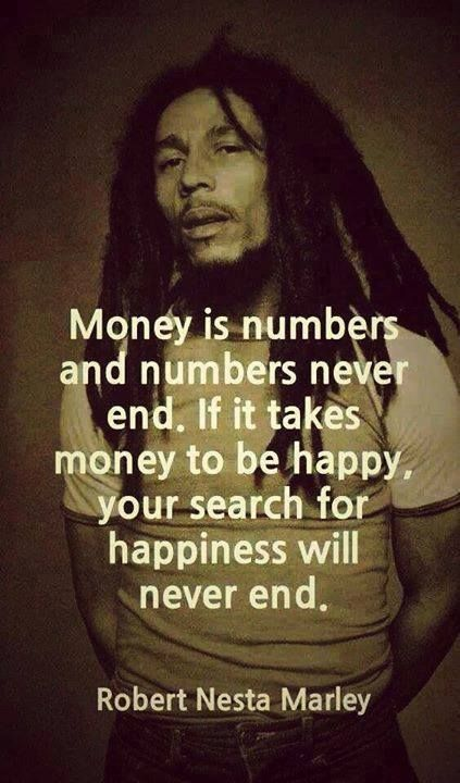 Happiness quote by Robert Marley