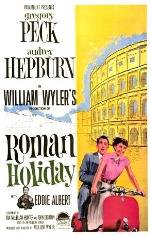 Films with fashion influence - 1953 Roman Holiday poster