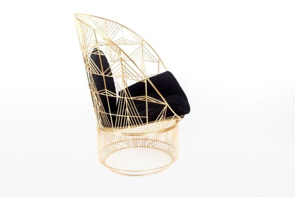 the Peacock Lounge Chair by Bend Goods
