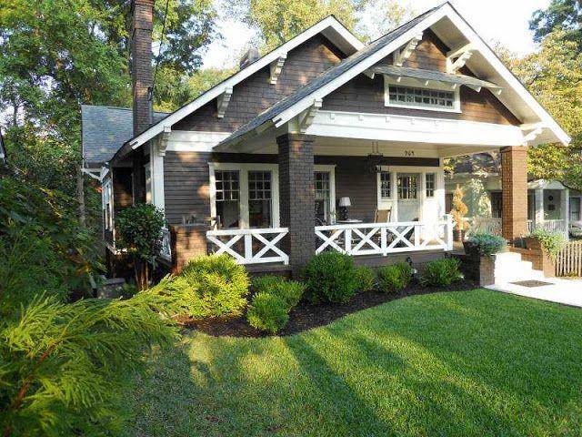 30 best atlanta homes exteriors images on pinterest for Craftsman home builders atlanta