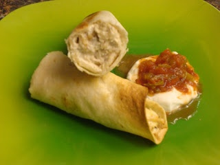 Copycat Recipe - Crisp Chicken Burrito from Taco Time (they fry them). My favorit @ taco time!
