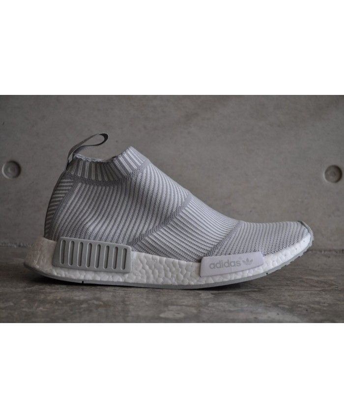 the latest 3a0f1 8ca47 Cheap Adidas NMD Cs1 Gtx Primeknit City Sock Grey White Shoe ...