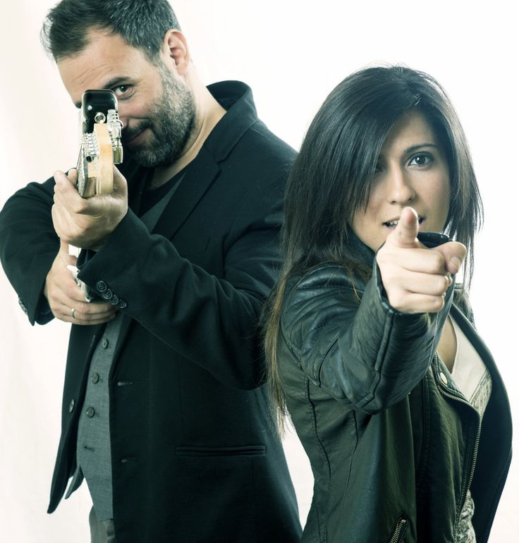 Santi Fontclara i Lydia Torrejón, preparats per a la batalla Foto: JUAN MIGUEL MORALES.