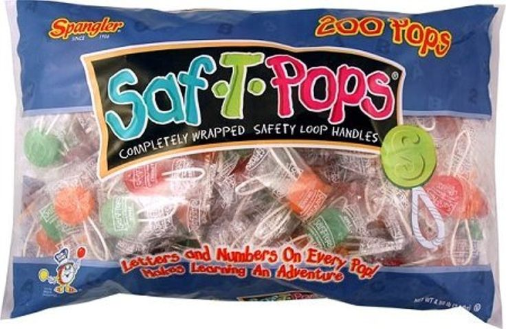 Saf-T-Pops: 200 Count by Dum Dum -- Awesome products selected by Anna Churchill