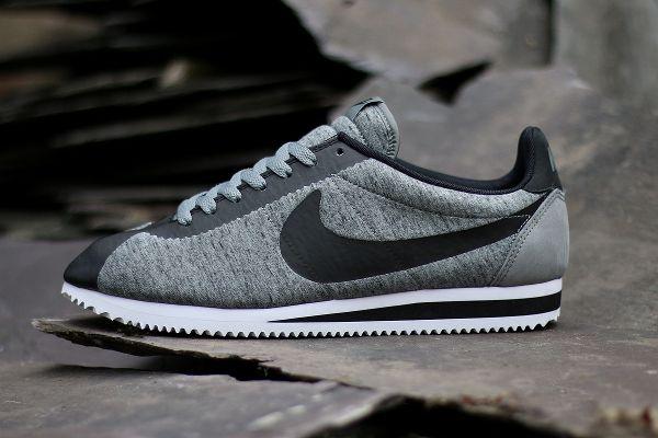 Nike Cortez Cool Grey Black  (3)
