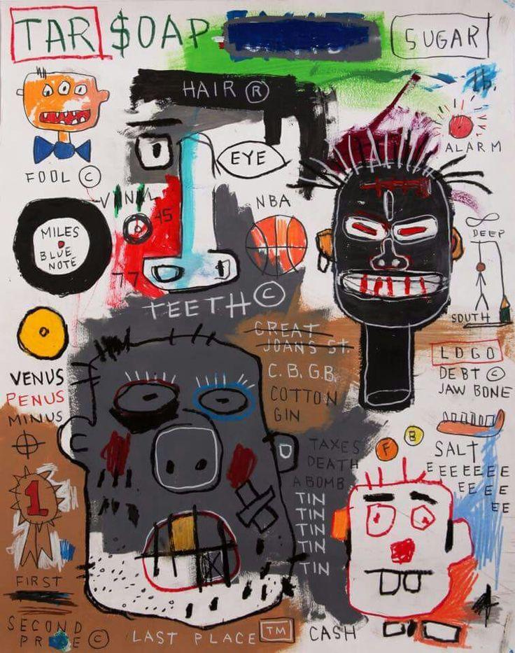 Jean-Michel Basquiat - Artist XXème - Underground Art - NeoExpressionism  - Jmb 02