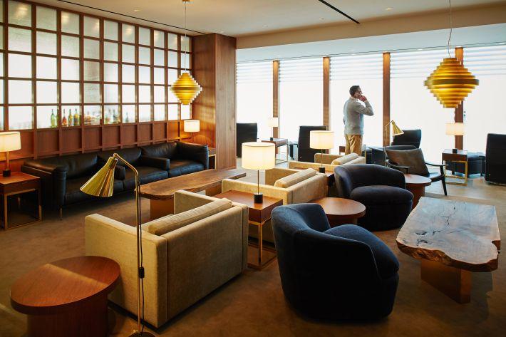 Cathay Heathrow Lounge