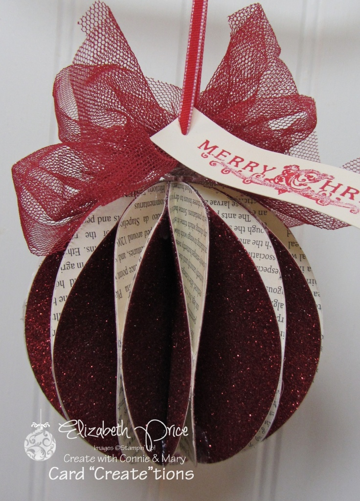 honeycomb sphere ornament / Pretty Paper Favor by Elizabeth Price at Seeing Ink Spots