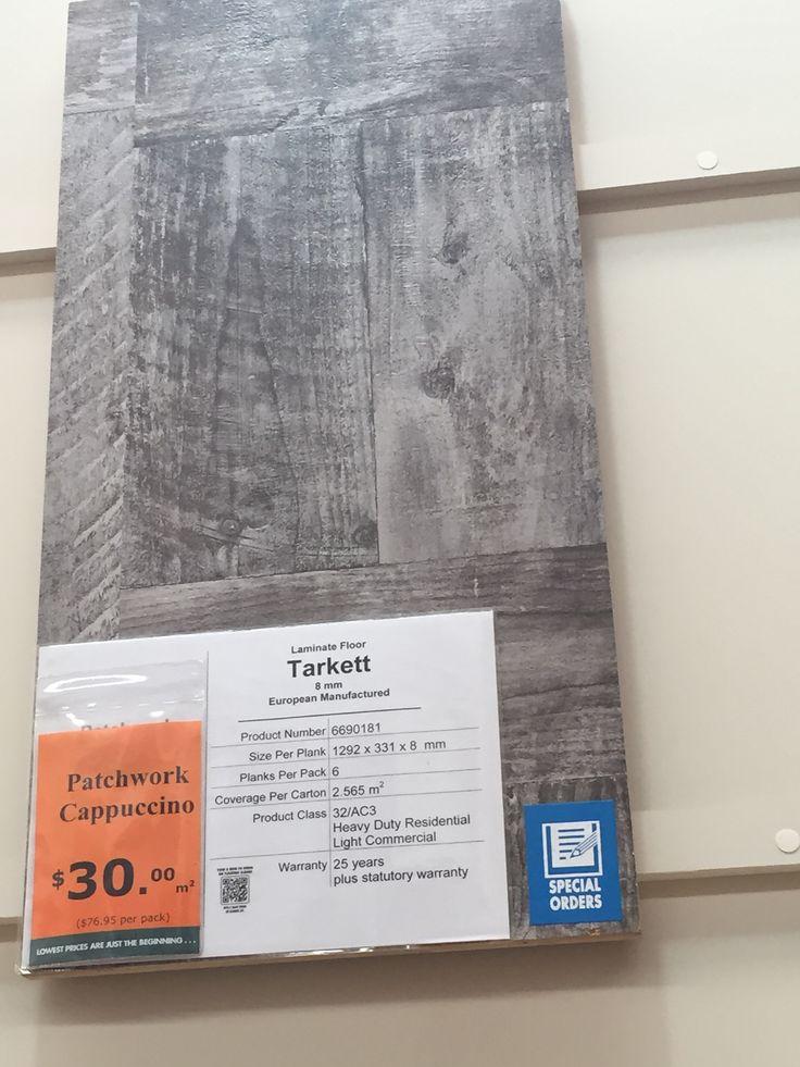 Grey timber flooring @bunnings