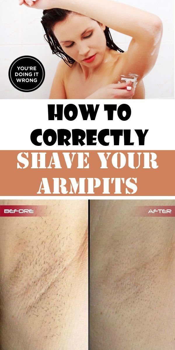 How To Get The Perfect Shave Under Your Arms