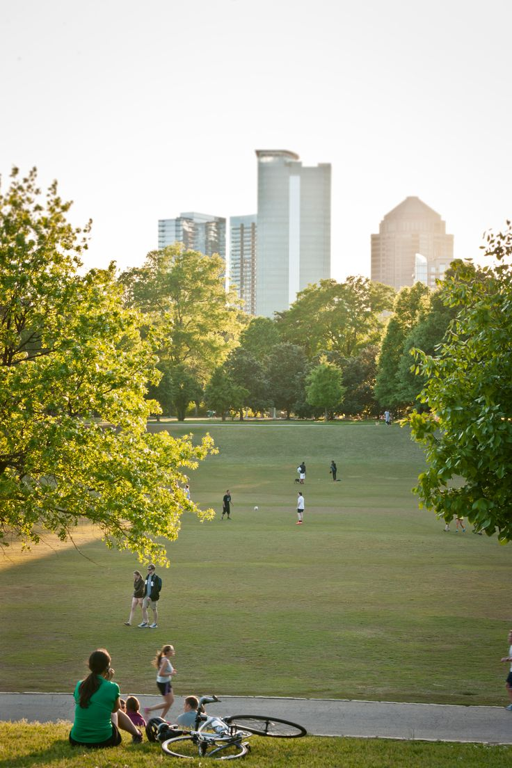 Piedmont Park. I've been here and absolutely loved it.
