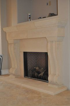 CAST STONE FIREPLACE - traditional - products - atlanta ...