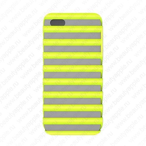 Чехол для iPhone 5 (Pulse) защитный, пластик (TPU), зелёный купить в интернет-магазине BeautyApple.ru.