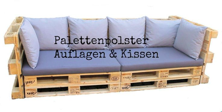 die besten 25 paletten polster ideen auf pinterest sofa polster palettenkissen und polster. Black Bedroom Furniture Sets. Home Design Ideas