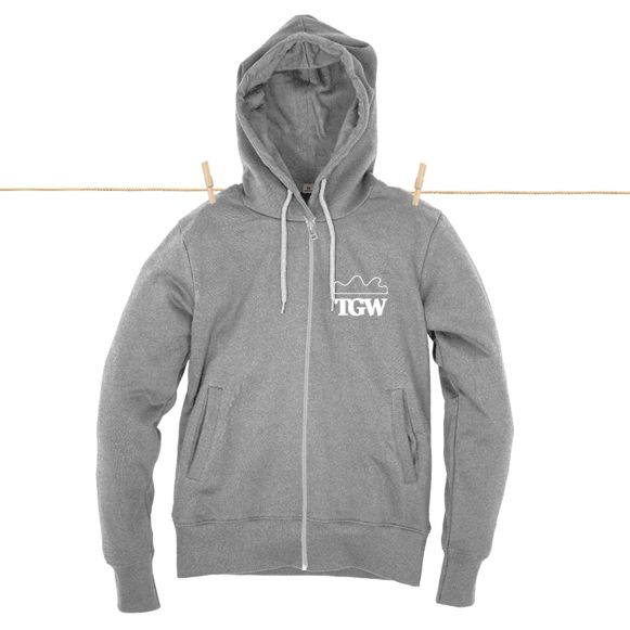 TGW Original Hoodie | Grey from The Green Wave