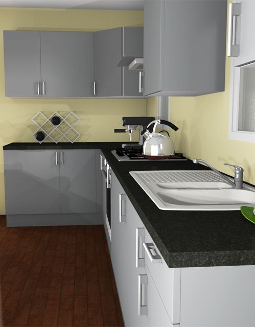 3d Rendering Of A Kitchen Automatically Created With Homebyme Kitchen Decorating Design Ideas Homebyme Rendering Pinterest 3d Rendering
