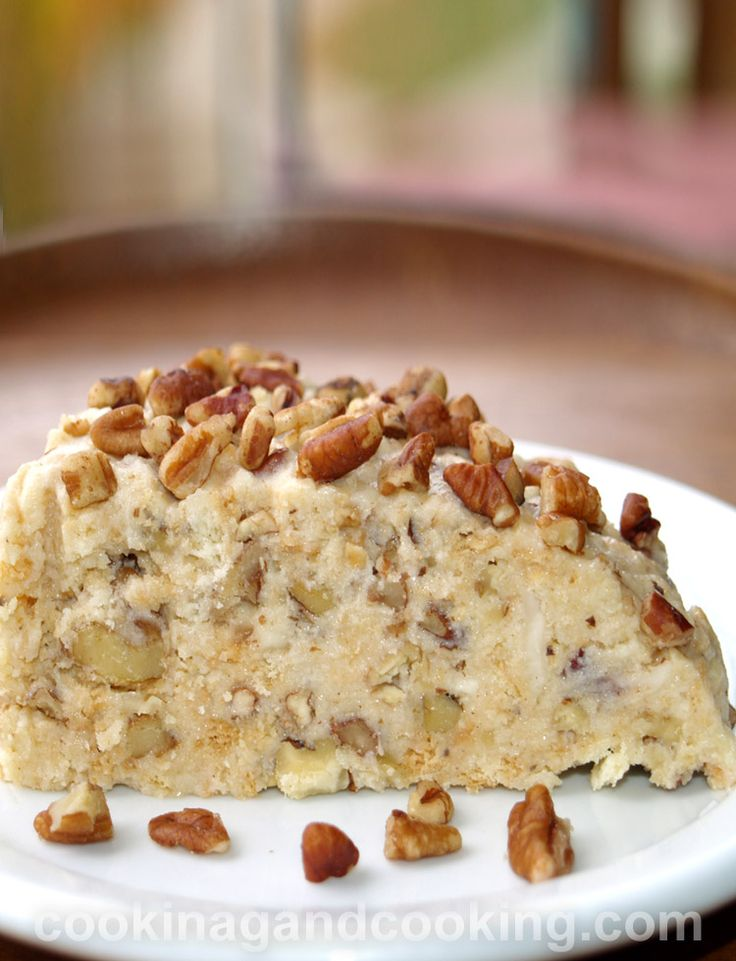 No Bake Nuts Cake is so easy to make; you just have to crunch the plain biscuit, add the condensed milk, nuts and spices, and chill in refrigerator.