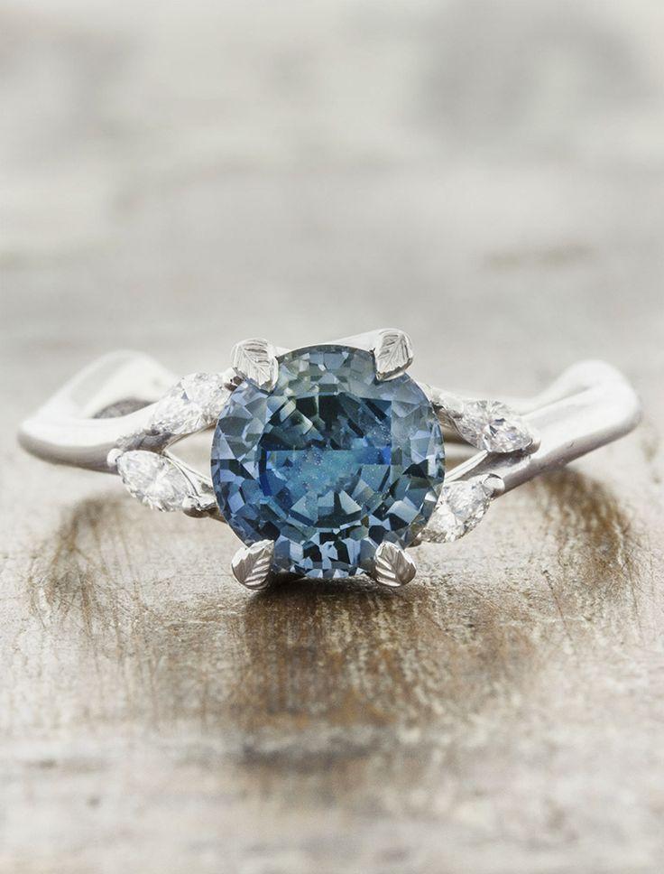 best 25 sapphire engagement rings ideas on pinterest. Black Bedroom Furniture Sets. Home Design Ideas