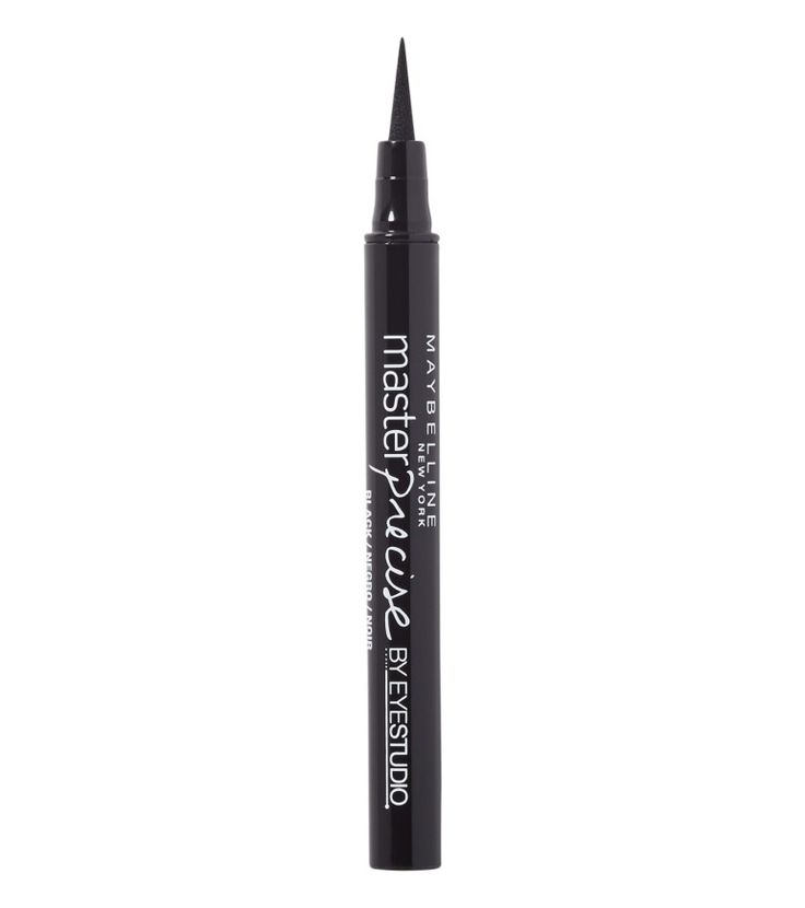 These Are the 6 Best Drugstore Liquid Liners We've Found - Maybelline Master Precise Eyeliner from InStyle.com