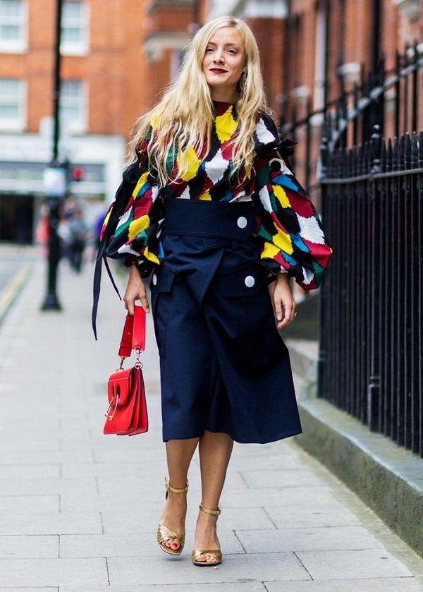 LFW: Πώς είναι το street style της εβδομάδας μόδας του Λονδίνου (μετά το…
