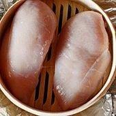 Domowo wędzona pierś kurczaka z gruszką – podana z double rice IPA