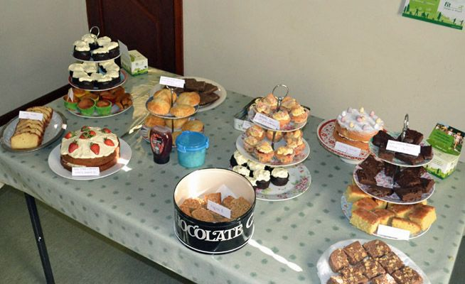 Bake sale boosts funds for Matt's marathon challenge