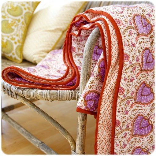 Quilt by Bungalow | Flickr - Photo Sharing!..../// typical jaipur prints!