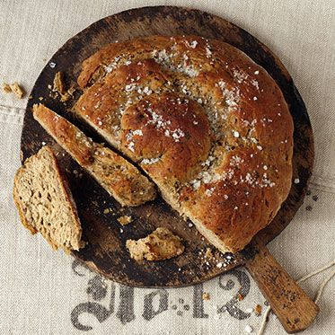 Mediterrane Brotschnecke - Mediterranean Bread Coil