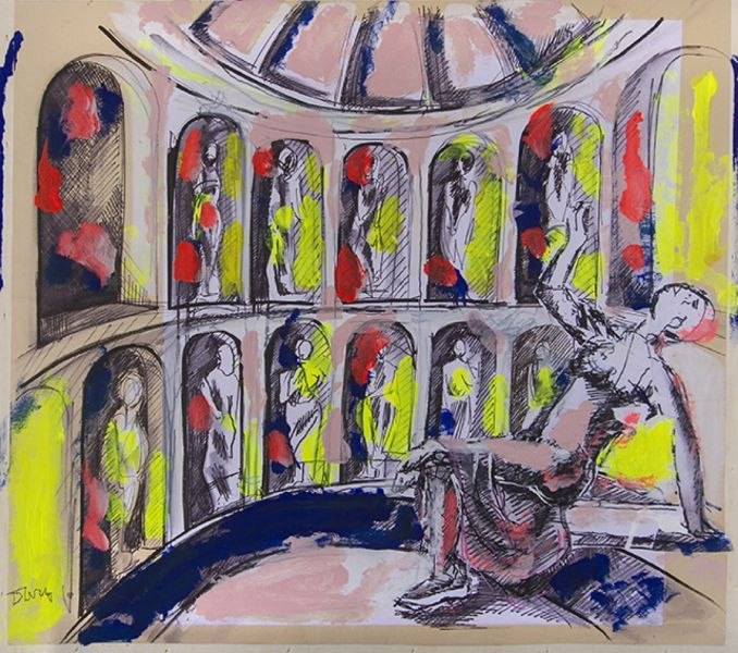 10_Maria fra le statue dei grandi compositori