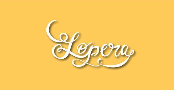 L E T T E R I N G on Behance #lastname #typography #lettering #love #yellow