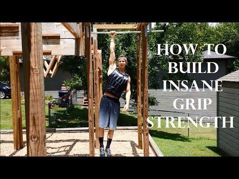Top 5 Best Exercises For INSANE Grip Strength: Ninja Warrior! - YouTube