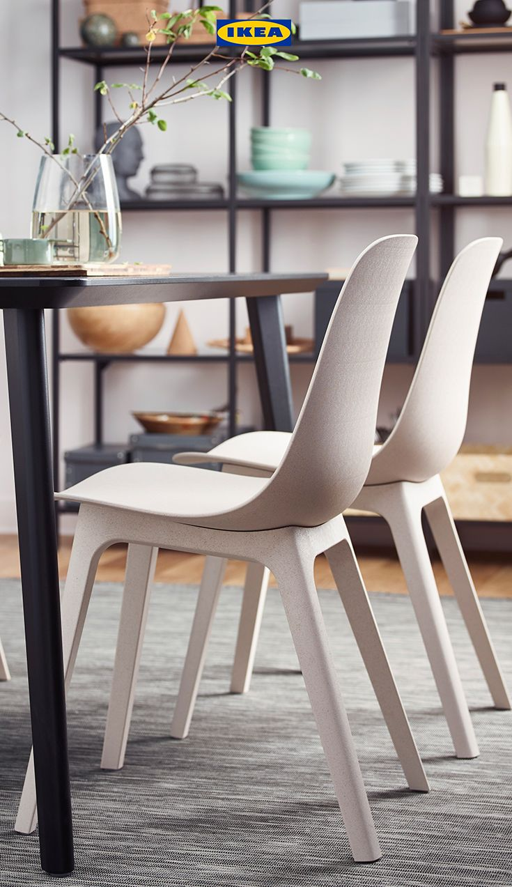 Ikea Bank Wiesbaden Odger Chair White Beige In 2019 Ikea Ideas Chair Elegant Dining