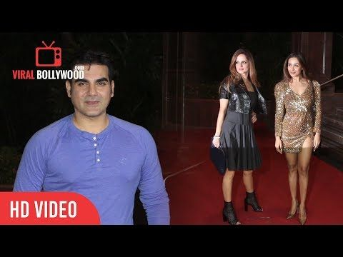 Arbaaz Khan And Malaika Arora Khan At Gauri Khans Halloween Party