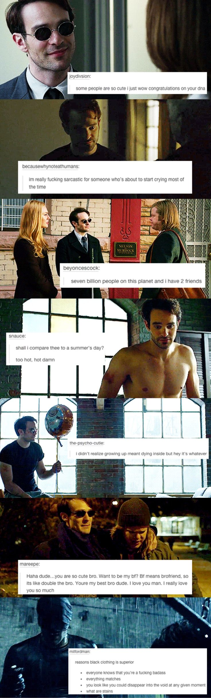 daredevil text posts