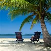 Peace and quiet...and a fruity drink awaits me...
