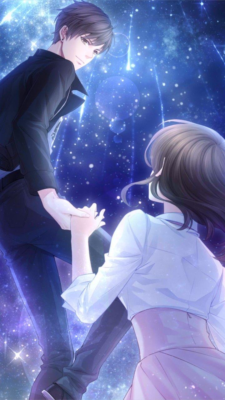 Aaila Hoorain Pasangan Anime Lucu Orang Animasi Animasi