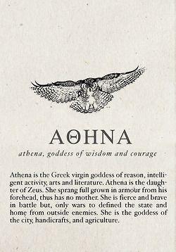 greek quotes mythology | Athena                                                                                                                                                     More