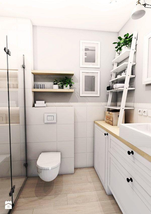 Łazienka styl Skandynawski - zdjęcie od Pracownia Projektowa MONO - Łazienka…