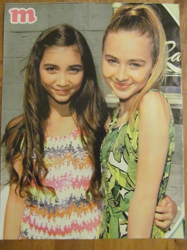 Rowan Blanchard and Sabrina Carpenter, Girl Meets World, Full Page Pinup