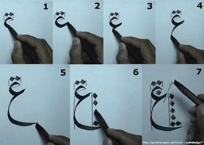 Tutorial 4 : Khat Nasakh ~ Seni Khat Warisan Islam | Islamic Calligraphy