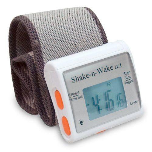 alarm clocks vibrates bedroom equipment new 'shake an wake' very easy to use