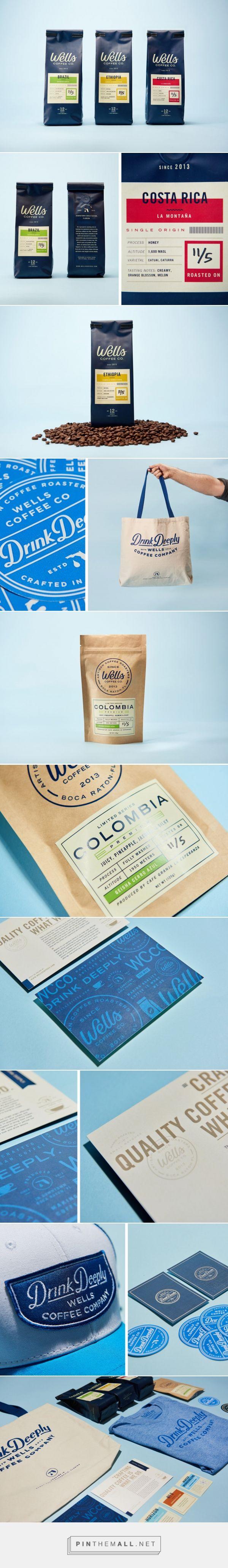 Wells Coffee Co. — Steve Wolf Designs - created via https://pinthemall.net